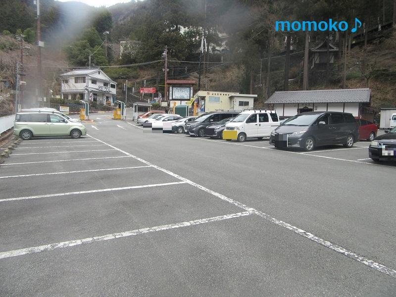 久遠寺 せいしん駐車場の様子