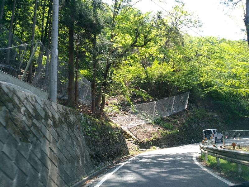 三峰神社への道1
