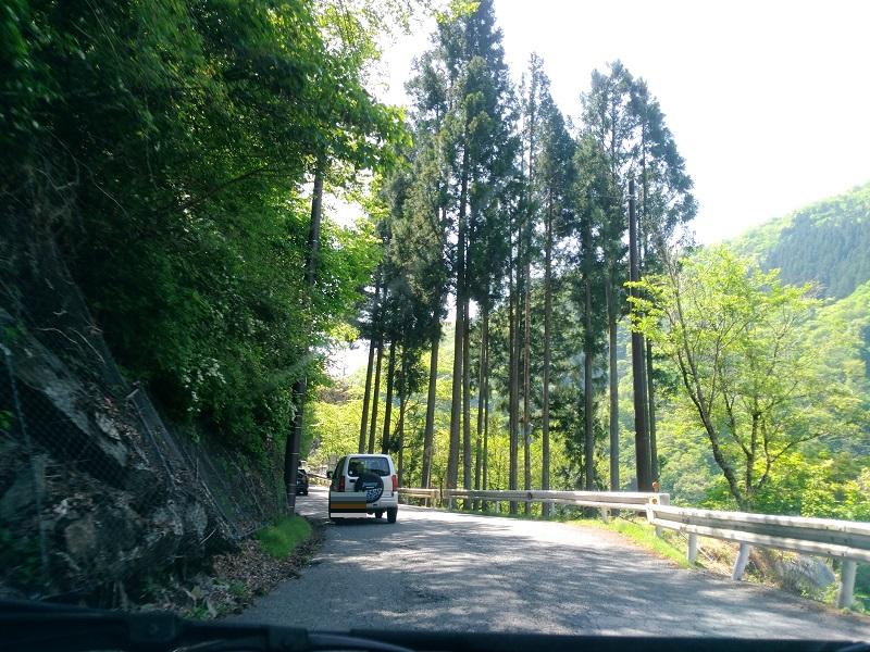 三峰神社への道3