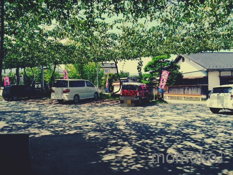 里見農園の駐車場