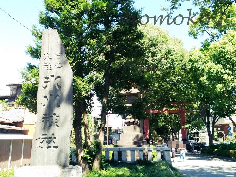 大宮氷川神社までの道のり8