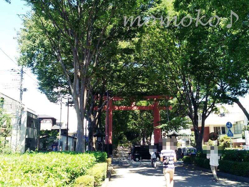 大宮氷川神社までの道のり9